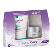 Medisei Panthenol Extra Beauty Care Face & Eye 24h Cream 50ml & Face Cleansing Gel 150ml