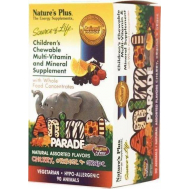 Nature's Plus Animal Parade Assorted Flavors 90 μασώμενες ταμπλέτες