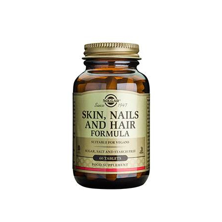 SKIN NAILS AND HAIR FORMULA tabs  60s
