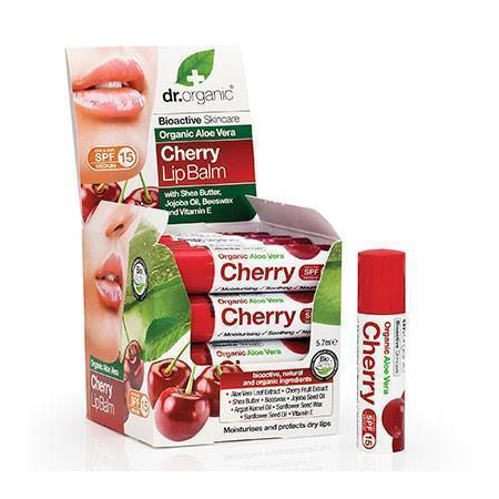 DO Aloe Vera Lip Balm Cherry 5,7ml (κτχ 16)