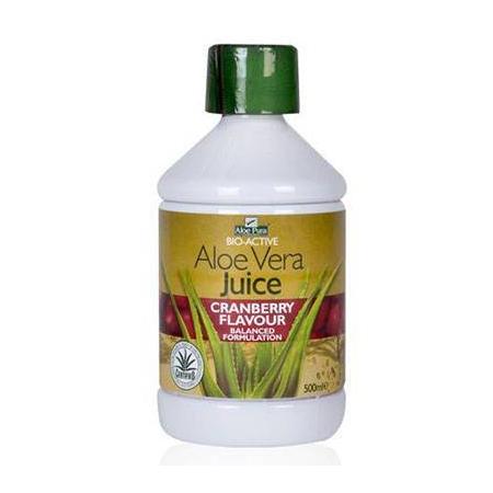 Op Aloe Vera Juice Cranberry 500ml