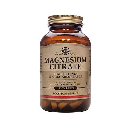 CITRATE MAGNESIUM 200mg tabs 120s