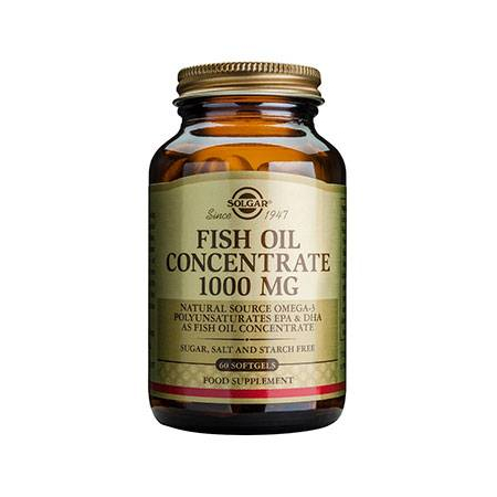 FISH OIL CONCENTR. 1000mg softgels 60s