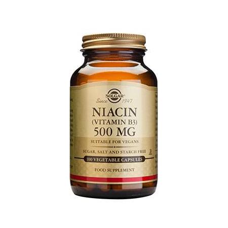 NIACIN 500mg veg.caps 100s