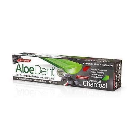 Op Aloedent Charcoal Toothpaste 100ml