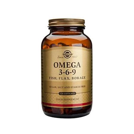 OMEGA-3-6-9 softgels 120s