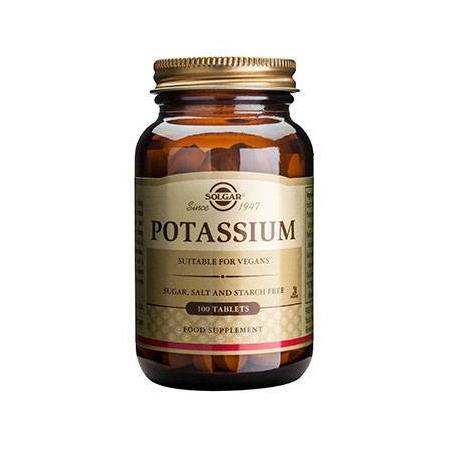 POTASSIUM GLUCONATE 99mg tabs 100s