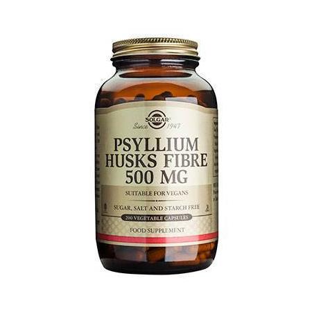 PSYLLIUM HUSKS FIBRE 500mg veg.cap 200s