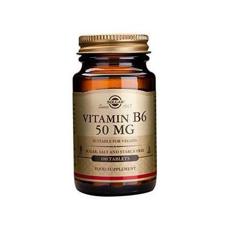 VIT. B-6 50mg tabs 100s