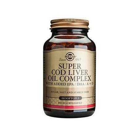 SUPER COD LIVER OIL COMPL softgels 60s