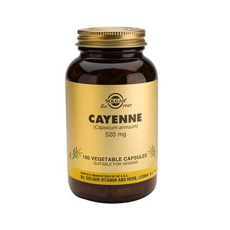 CAYENNE veg.caps 100s