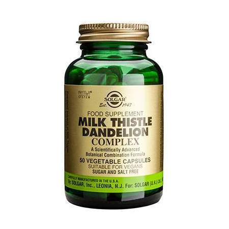 MILK THISTLE/DANDEL. COMPL.vcaps 50s