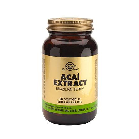 ACAI EXTRACT softgels 60s