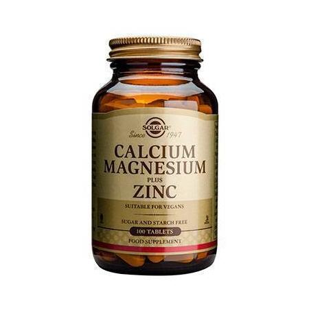 CALCIUM MAGNESIUM + ZINC tabs 100s
