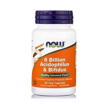 ACIDOPHILUS / BIFIDUS 8 BILLIOΝ (Refr.) - 60 Vcaps®