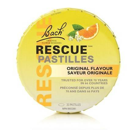 Bach Rescue Pastilles Orange
