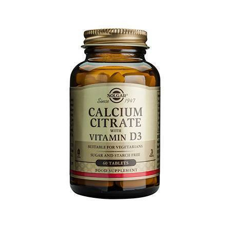 CALCIUM CITRATE 250mg with D3 tabs 60s
