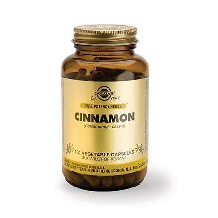 CINNAMON veg.caps 100s