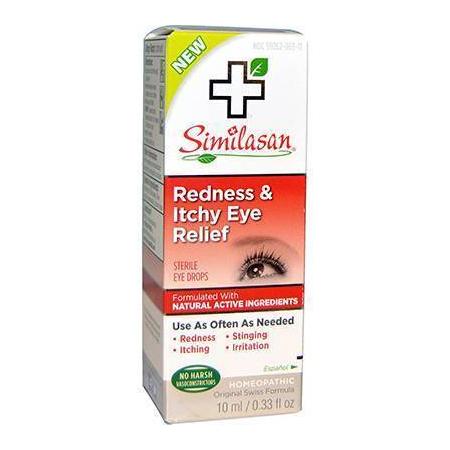 Similasan Itchy Eye 10ml (Γρήγορη και αποτελεσματική ανακούφιση από προβλήματα φαγούρας των ματιών)