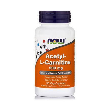 ACETYL L-CARNITINE 500 mg - 50 Vcaps®