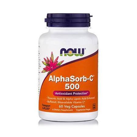 ALPHASORB-C™ 500 mg ( +10% Alpha Lipoic Acid, Acerola, Rutin, Citrus ) - 90 Vcaps®