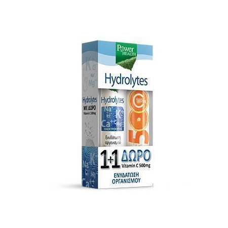 HYDROLYTES 20s + ΔΩΡΟ VITAMIN C 500mg 20s
