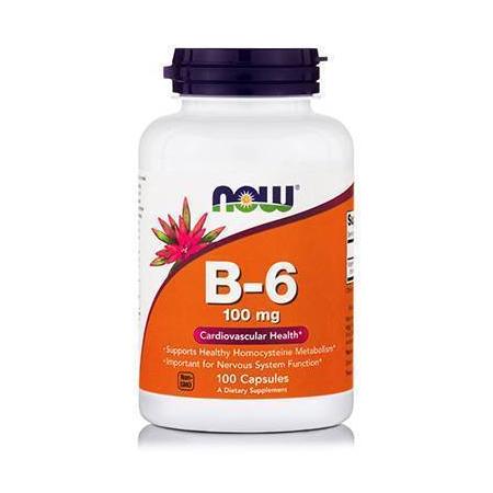 B-6 100 mg - 100 Caps