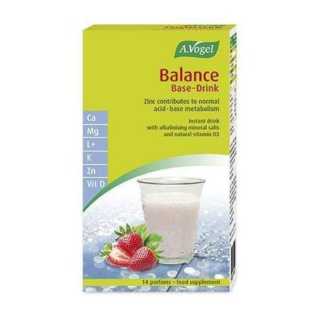 Balance Base Drink 14 sachets (ρόφημα φυσικής αλκαλοποίησης και εξισορρόπησης του pH του οργανισμού)