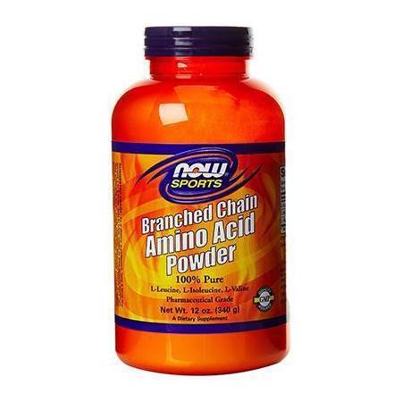BCAA'S Powder (100% Pure) 2:1:1 Leucine/Isoleucine/Valine - 12 oz (340gr)