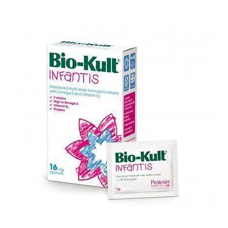 Bio-Kult Infantis  8x1g (Προηγμένη πολυδύναμη φόρμουλα με Ω3 και βιταμίνη D3 για την υγεία του πεπτικού των παιδιών)