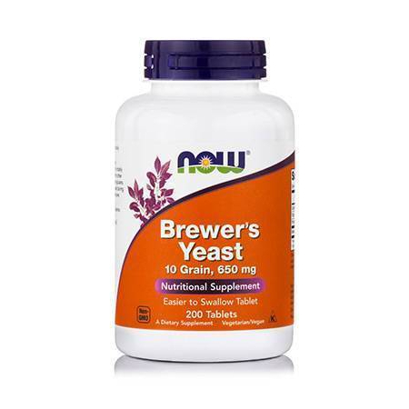 BREWERS YEAST 10 Grain 650 mg - Vegetarian 200 Tabs