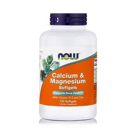 CAL-MAG+D™ (+ 10 mg Zinc) - 120 Softgels