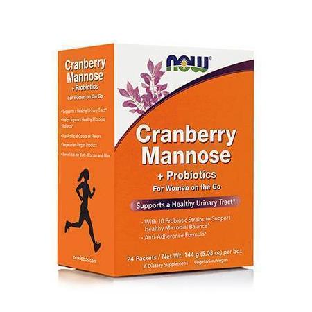 CRANBERRY, MANNOSE + PROBIOTICS - 24 Packets per Box