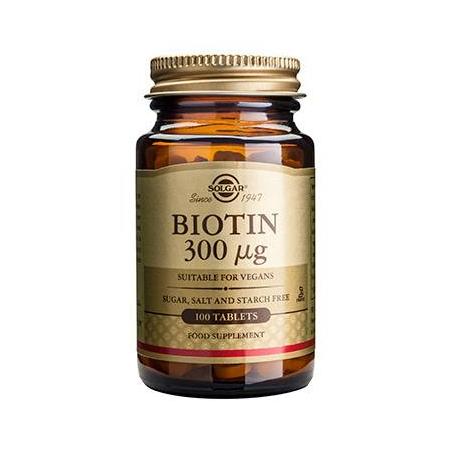 BIOTIN 300mg tabs 100s