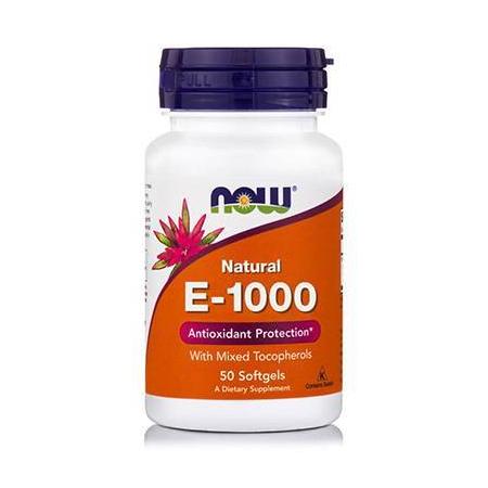 E-1000 IU, Mixed Tocopherols- 50 Softgels