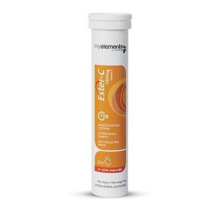 Me Vitamin Esterc 1000mg (Orange) Ef 20s