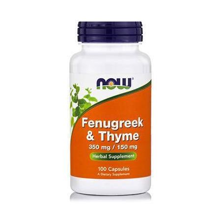 FENUGREEK & THYME 350/150 mg - 100 Caps