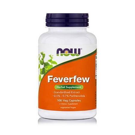 FEVERFEW 400 mg, (0,3% Parthenolide) - 100 Caps