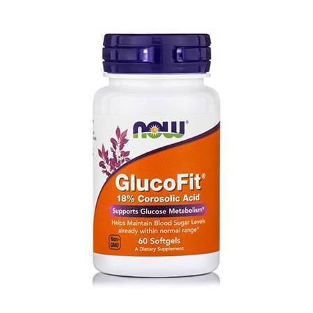 GLUCOFIT® - 18% Corosolic Acid 60 Softgels