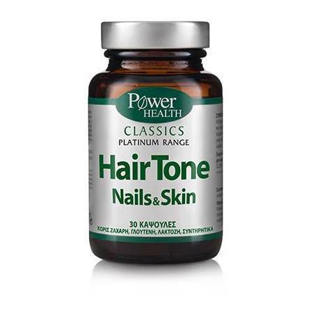Classics Platinum - HairTone Skin Nails 30s CAPS