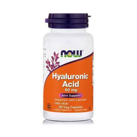HYALURONIC ACID 50 mg + 450 mg MSM - 60 Vcaps®