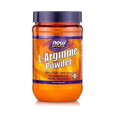 L-ARGININE Powder, Free Form - 1 lb. (454 gr)