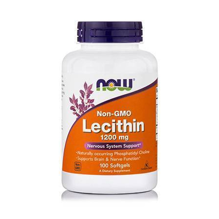 LECITHIN 1200 mg (NON-GMO) - 100 Softgels