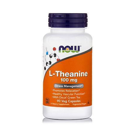 L-THEANINE 100 mg (Suntheanine® + Grean Tea) - 90 VCaps®