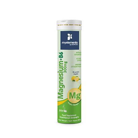 Me Magnesium 300mg + B6 (Lemon) Ef 20s