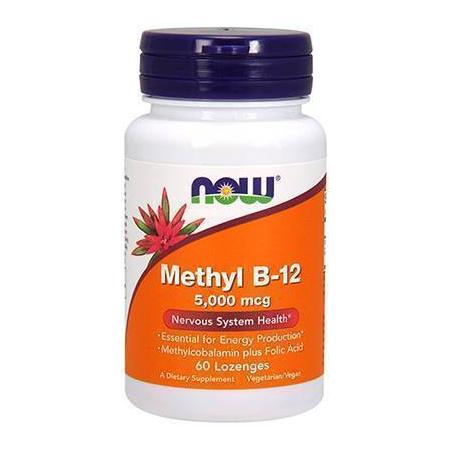 METHYL Β-12 5,000 mcg (Methylcobalamin) - 60 Lozenges