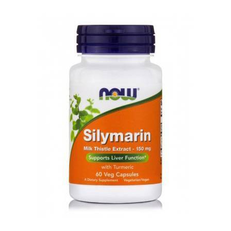MILK THISTLE/SILYMARIN 150 mg (80% + Turmeric Base) - 60 Vcaps®
