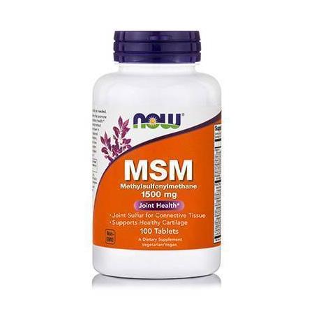 MSM 1500 mg - Vegetarian 100 Tabs