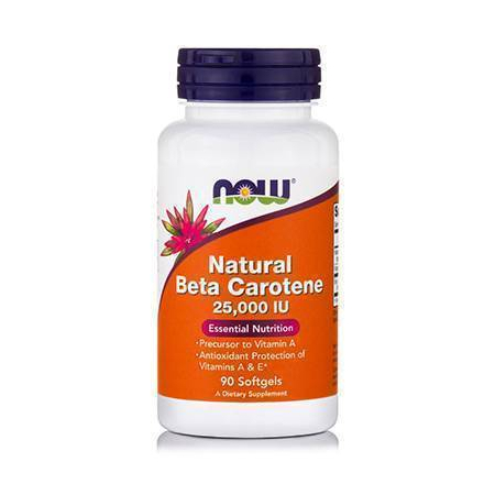 BETA CAROTENE NATURAL (25,000 IU Sea Algae Sourse-Betatene®) - 90 Softgels