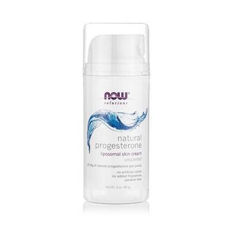 NATURAL PROGESTERONE LIPOSOMAL Skin Cream, Lavender - 3 fl oz (88,7 ml)